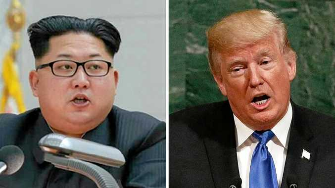 North Korean leader Kim Jong-un and US President Donald Trump have been ramping up the war rhetoric.