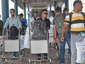 Asylum seekers from Manus, Nauru on their way to the US