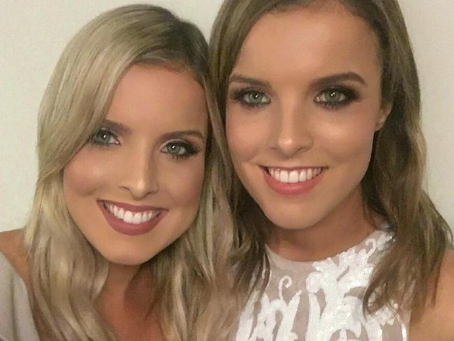 Amy Taeuber (right) claimed Mr Lohse made inappropriate comments towards her and her sister Sophie (left). Picture: FacebookSource:Supplied