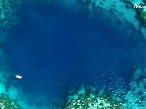 Blue hole find 'hard to believe'