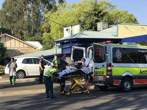 'Freakish' incident leaves Toowoomba father in hospital