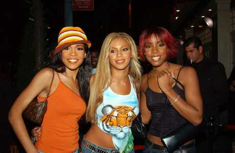 From left, Michelle Williams, Beyonce Knowles, and Kelly Rowland of
