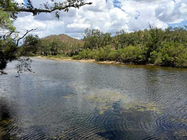 DAM STUDY: Urannah Creek, site of proposed Urannah Dam, west of Mackay.