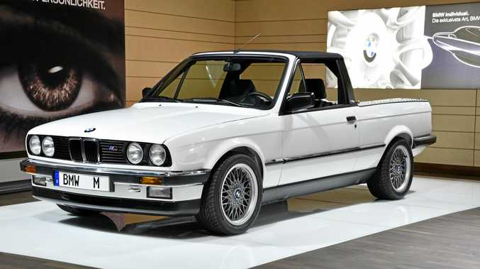 BMW will build utes in the future, if the business base stacks up. BMW has only made concept utes, including as the 1986 3-Series.