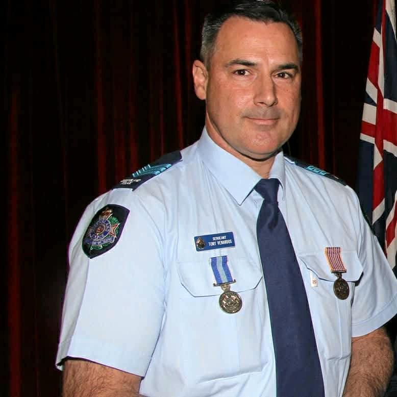 Sergeant Anthony Venardos.