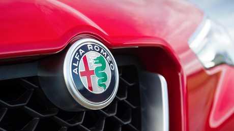 The 2018 Alfa Stelvio (overseas model shown).