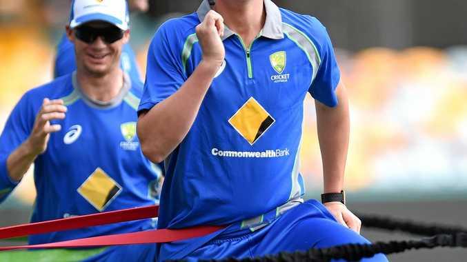 Australian cricketer Matthew Renshaw is getting prepared for a big summer.
