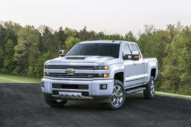 Chevrolet Silverado pick-up (2017 model shown). Picture: Supplied