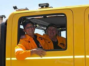 Firie couple keeps flame alive volunteering for rural brigade