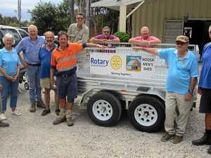New wheels for Noosa Men's Shed