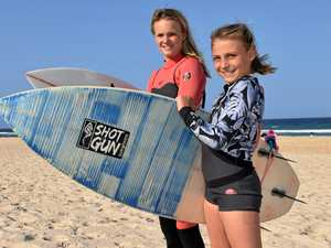 Talented young surfers carving their own paths