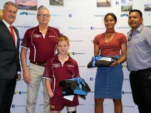 Young local sports stars awarded