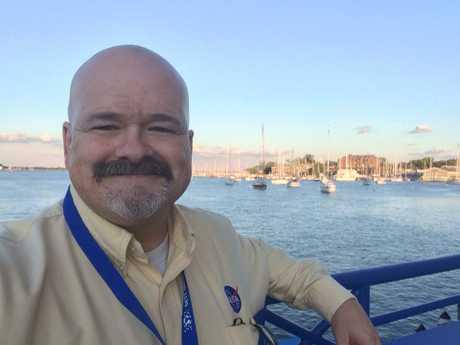 NASA scientist, Dr Doug Hudgins