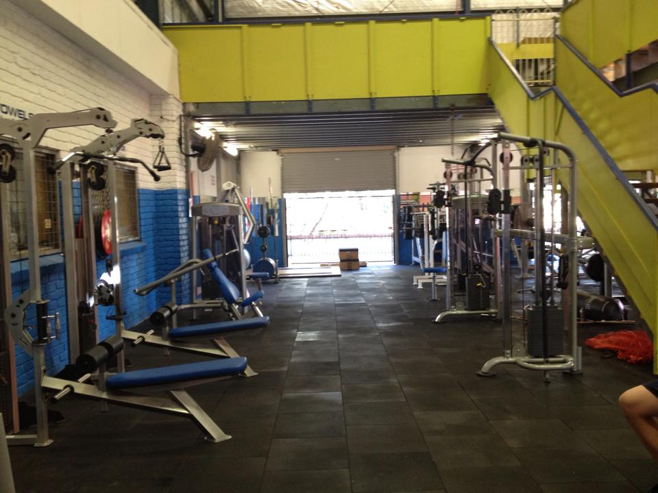 The teenager was crushed while using the Pine Rivers PCYC gym.