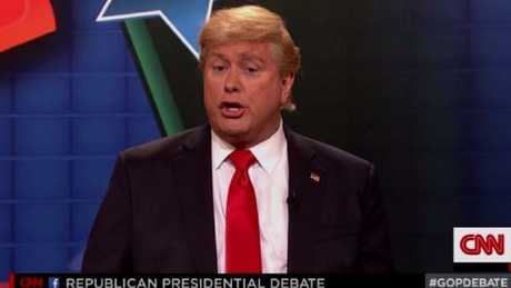 Darrell Hammond frequently impersonated Donald Trump on SNL.