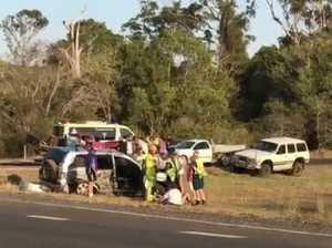 VIDEO: Crash at East Deep Creek