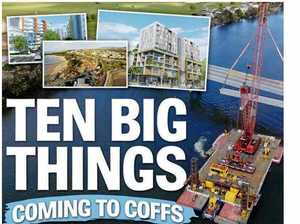 Coffs Coast benefits from $1.2bn in major projects