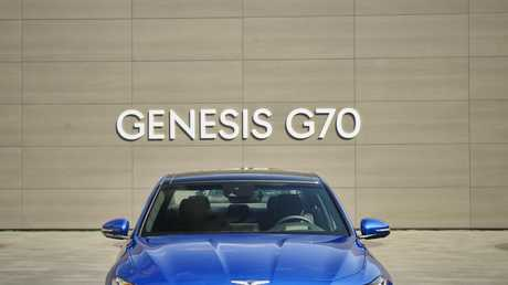 Coming next year is the Genesis G70 (overseas model shown).