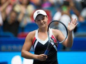 Barty claims another top-10 scalp in Wuhan