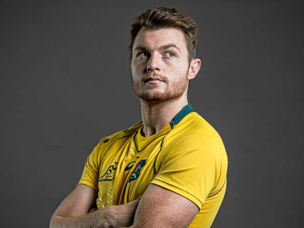 Jack Dempsey is itching to get at the Springboks