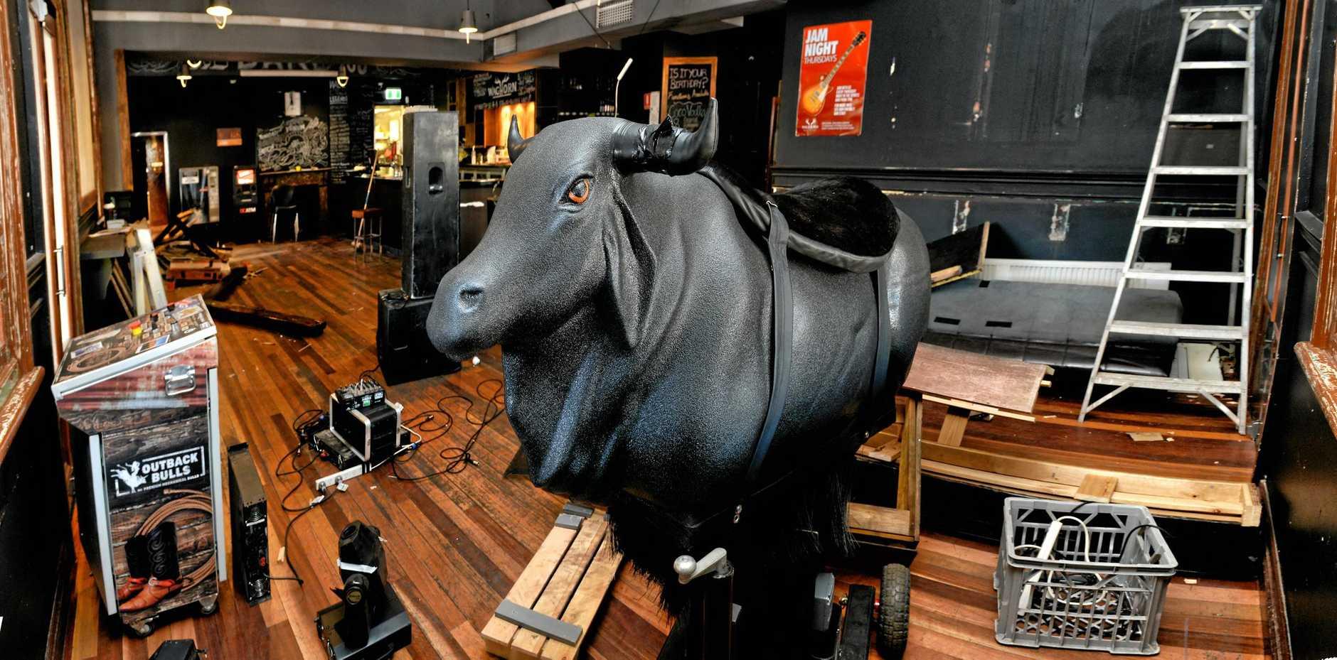 Ranga the Bucking Bull is lonely.