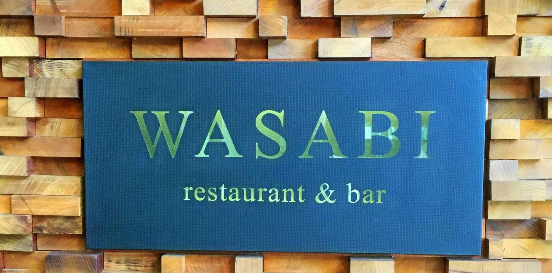 Wasabi restaurant, Noosa Heads.