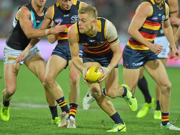 Hugh Greenwood is in the Crows' side for the grand final.