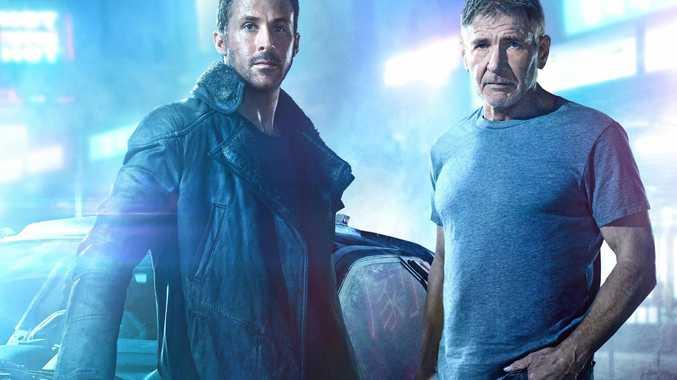 HIT: Ryan Gosling and Harrison Ford in Blade Runner 2049.