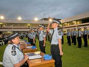 Gladstone takes largest share of new police graduates