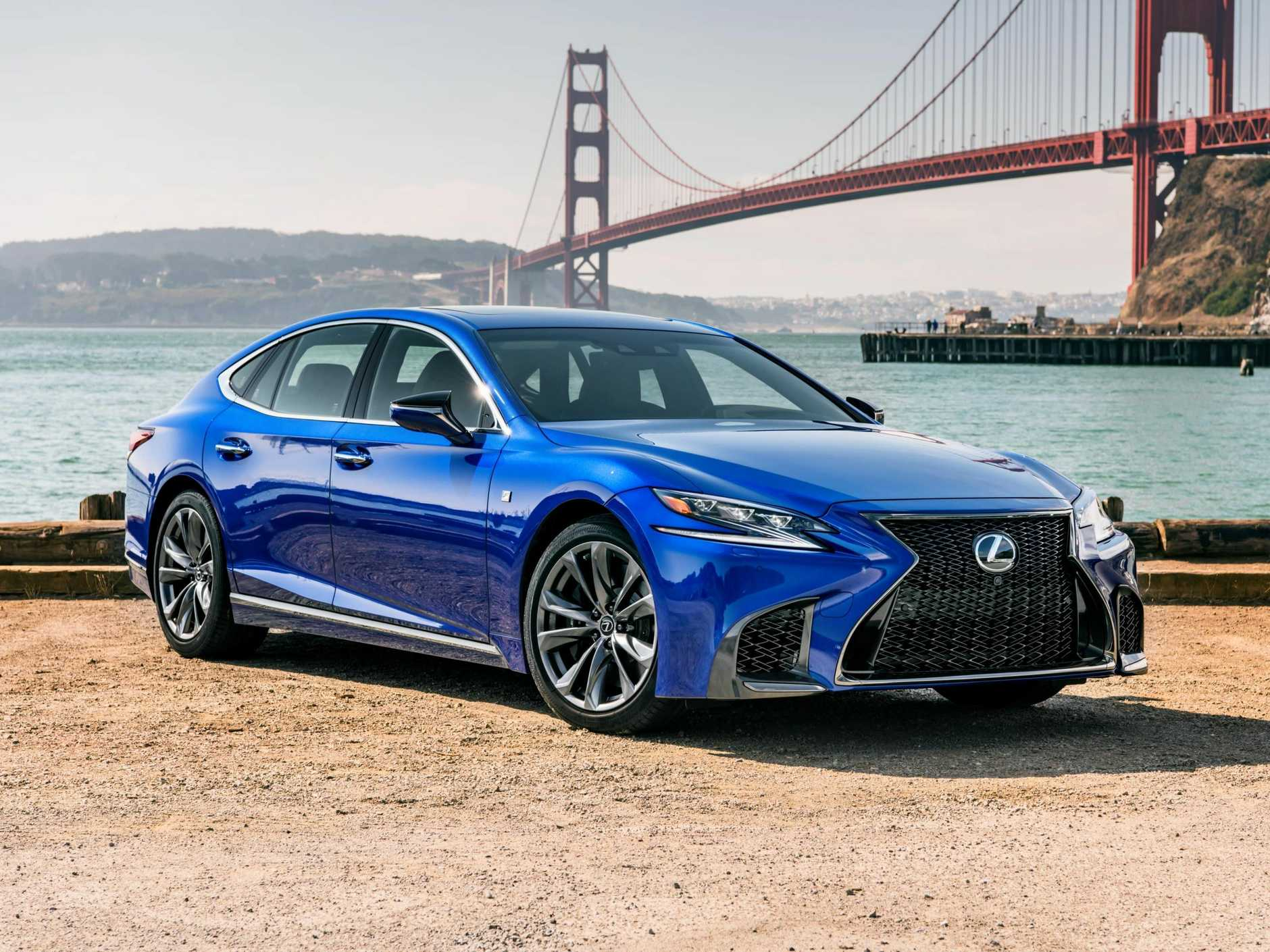 Arriving in Australia in 2018 is the fifth generation Lexus LS500.