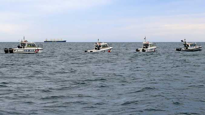 Marine Rescue NSW vessels during a Search and Rescue Exercise (SAREX).