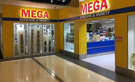 The new Mega Bargain and Variety store which opened in Stockland Rockhampton.