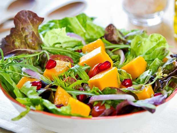 This light, healthy salad combines a lot of vitamin-packed goodness, and it tastes great.