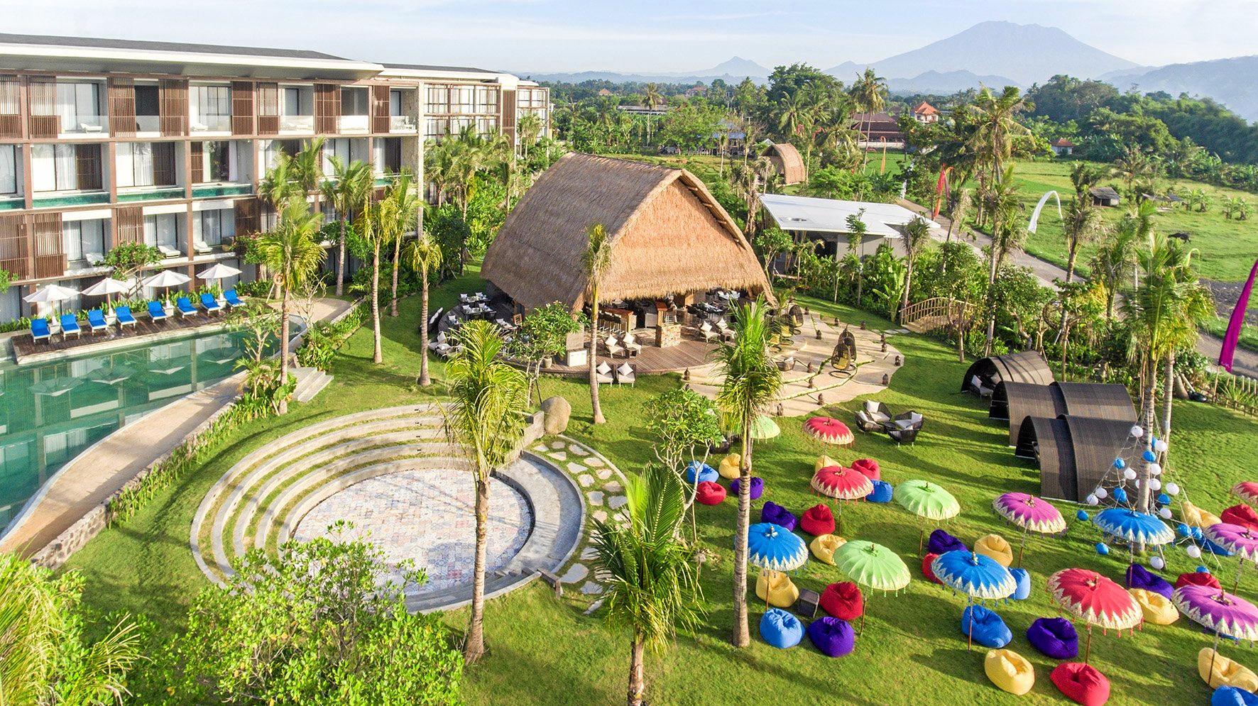 The Wyndham Jivva Resort in Bali.
