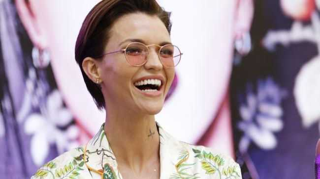 Ruby Rose looked every part the movie star as she made an appearance for Urban Decay at Westfield Chatswood yesterday.