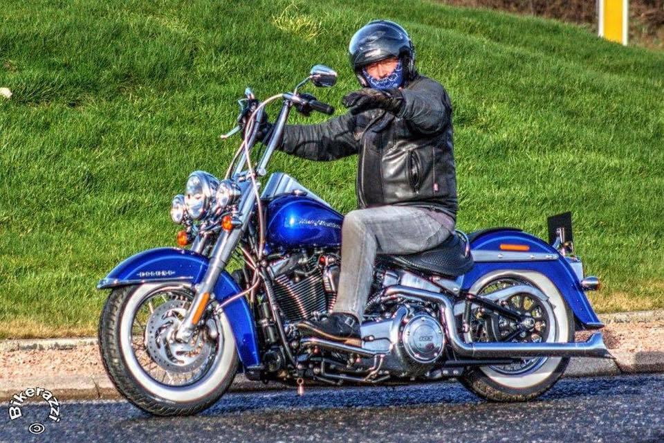 Scottish biker Gordon Cruden is set to hit the roads of Australia