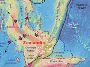 Lost continent under New Zealand
