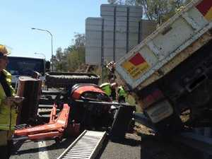 Crash causes 28km gridlock