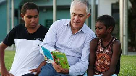 Prime Minister Malcolm Turnbull in Cairns. Picture: Brendan RadkeSource:News Corp Australia