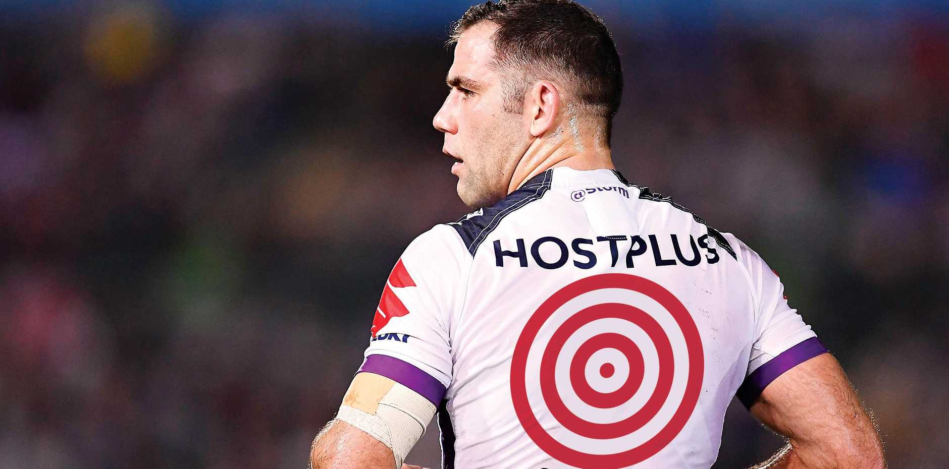 PRIME TARGET:  Cameron Smith needs to be stopped if the Cowboys are to beat Melbourne in the grand final.