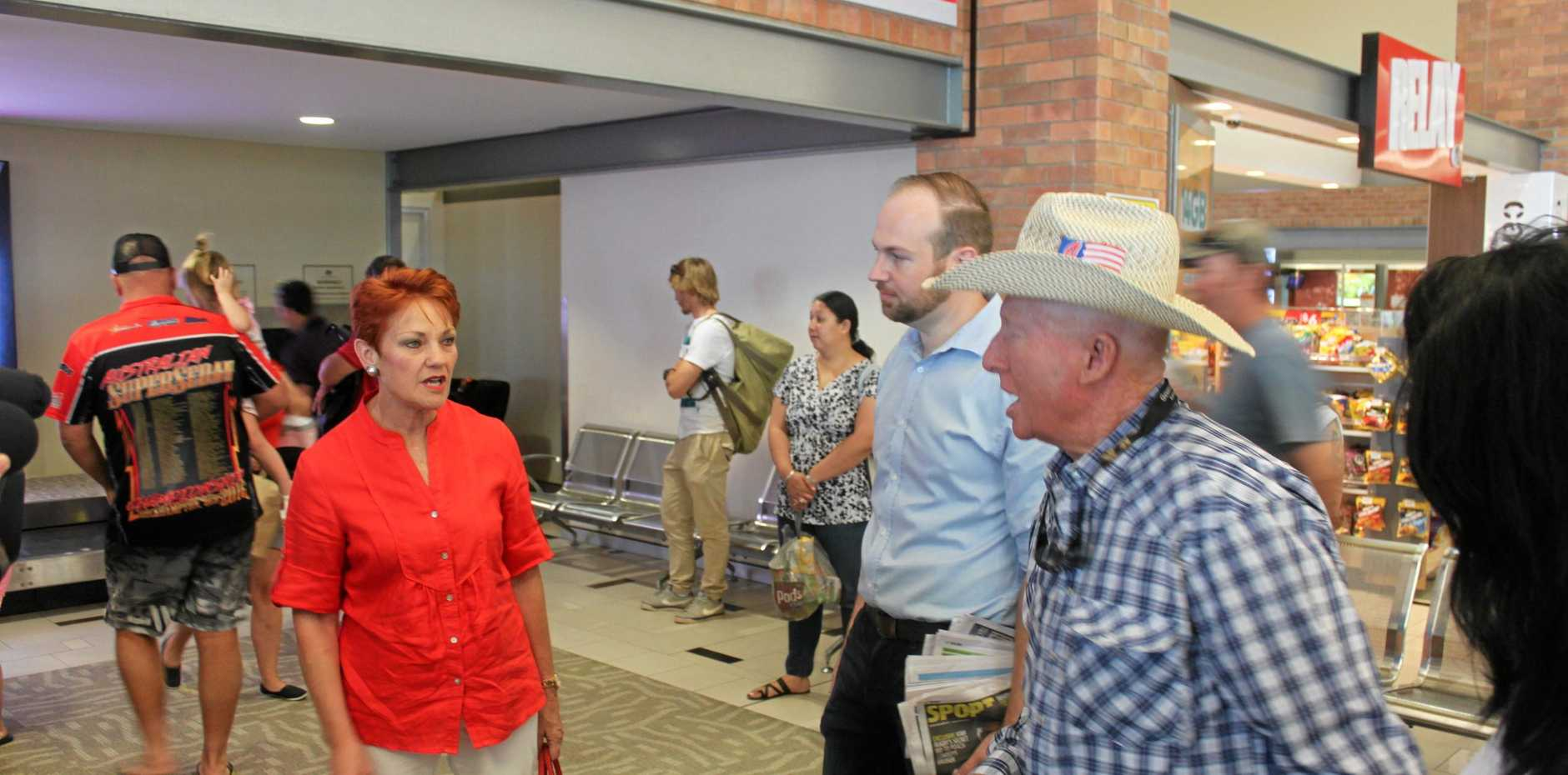 CQ VISIT: Pauline Hanson is in CQ to listen to the concerns of locals and push her plans for the region.