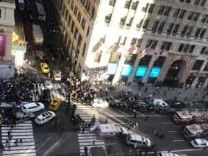 New York pedestrians mowed down