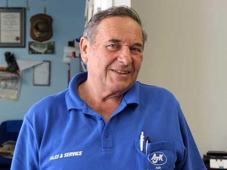 Andrew Kukurudza from AJK Air Conditioning in Mackay.
