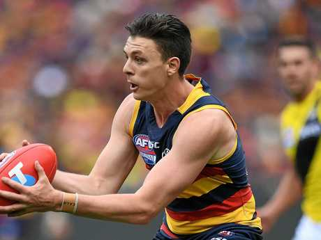 Jake Lever was one of the Crows's best.