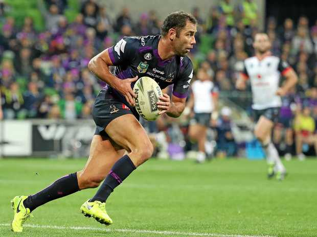 Storm romp over Cowboys in NRL GF
