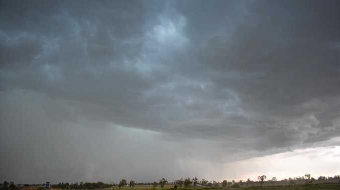STORM FRONT: A severe weather warning has been issued for Maranoa this evening and into tomorrow.