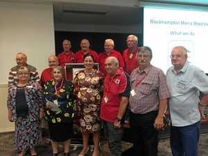 Strong community support for Rockhampton Men's Shed's bold plans