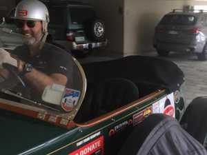 Rare vintage car visits Noosa