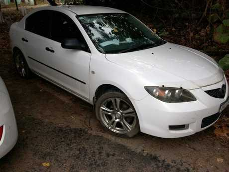 The Mazda of missing woman Selena Collinson was found parked near the New Brighton shop.