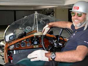 WATCH: 1923 car revs its engine for fundraising mission